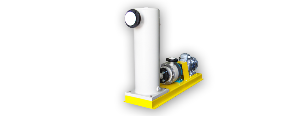 Pompe Serie OMA | Pompe Autoadescanti in Sezione Monoblocco | OMA Series Pumps | Enbloc-type Close-Coupled Pumps