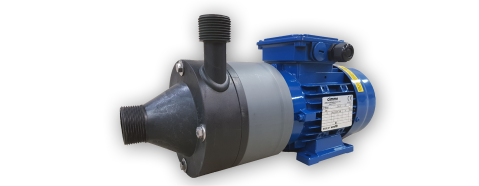 Pompe Serie OM F | Pompe a Monoblocco Filettato | OM F Series Pumps | Enbloc-type Close Coupled Threaded Pumps